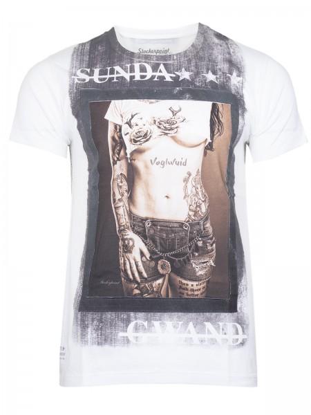 Shirt Lennox weiß