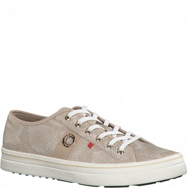 Sneaker 23640 champagner snake