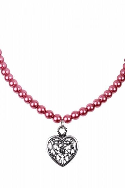 Halskette Perlen Arabella Romanza Herzanhänger