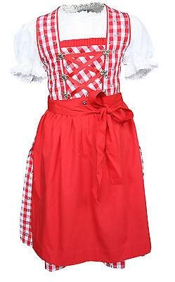 Süßes Kinderdirndl Mia Set 3-tlg verschiedene Farben