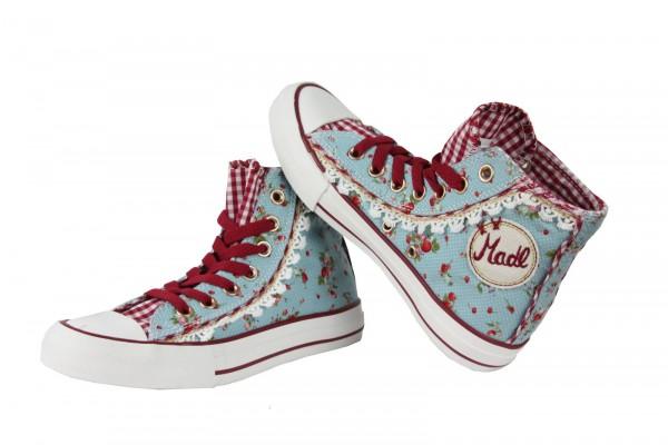 Sneaker Strawberry hellblau