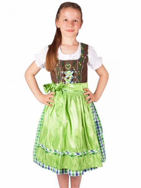 Kinderdirndl Petra Set 3-tlg m. Bluse