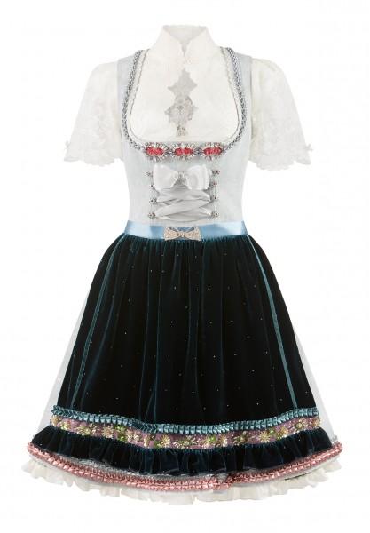 Dirndl Lena bleu-midnight by Lola Paltinger Couture