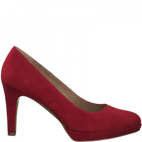 Plateau Pumps 22400 red